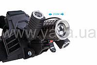 Налобный фонарь Bailong Police MOD-327/ 602( 2 T5X1 T6X2/18650 / )