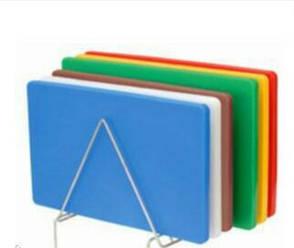 Профессиональная разделочная доска Синяя 50*40*2, фото 2