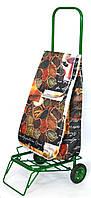 Усиленная хозяйственная сумка - тележка на колесах с подшипниками (Специи), фото 1