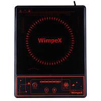 Инфракрасная электроплита настольная Wimpex 2000 Ват для быстрого разогрева до 500* из таймером