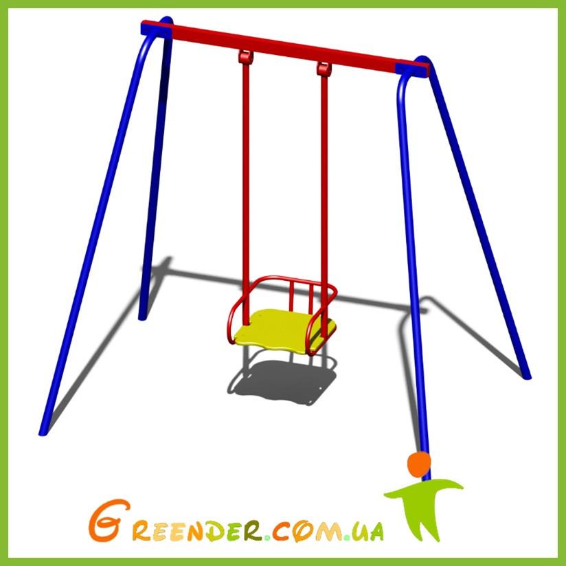 Качели металлические B47 для детей на игровую площадку
