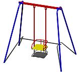 Качели для дачи металлические B47 для детей, фото 2