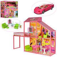 Игрушечный домик для кукол Барби с мебелью Bambi My Lovely Villa 6981