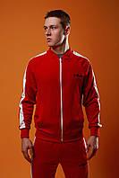 Спортивный костюм мужской Фила с лампасами, цвет красный, фото 1