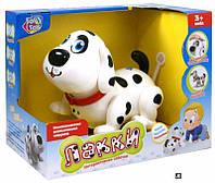Музыкальная развивающая игрушка для малышей,собака Лаки,Интерактивная собака Play Smart 7110