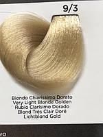 INEBRYA COLOR крем-краска для волос профессиональная 9/3 Золотистый Очень Светлый Блондин