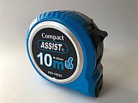 Рулетка Assist 10*25мм ударопрочный пластик