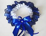 Свадебный набор, сине белый., фото 2
