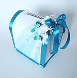 Свадебный набор, бирюзовый, фото 2