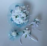 Свадебный набор, бирюзовый, фото 4