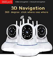 Беспроводная IP Камера  EC37-06  ( 1080р ) Wi-Fi IP камера для дома и магазина,видеоняни и радионяни