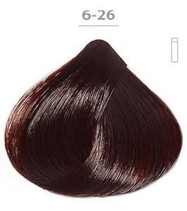 Стойкая гелевая краска DUCASTEL Subtil Gel 6-26- тёмный блондин перламутровый красный, 50 мл