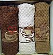"""Махровые кухонные полотенца """"Cappucino"""" 40*60 см Vianna 3 шт., Турция , фото 5"""