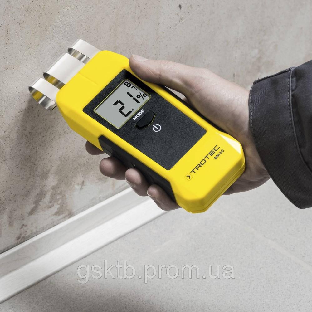Влагомер для строительных материалов Trotec ВМ40 (Германия)