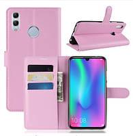 Чехол книжка для Huawei P Smart 2019 Розовый