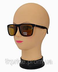 Мужские поляризационные солнцезащитные очки 6059 коричневые