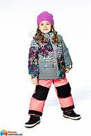Комплект зимний для девочки Deux par Deux J317, цвет 710