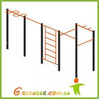 Спортивный комплекс Воркаут W03 для детей игровые упражнения на улице