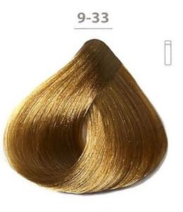 Стойкая гелевая краска DUCASTEL Subtil Gel  9-33- очень светлый блондин золотистый насыщенный, 50 мл