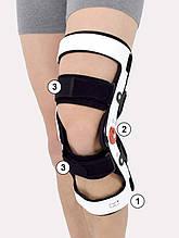 Стабілізатор для спортсменів Reh4Mat ATOM/1R Knee Brace ACL Lower Limb Support