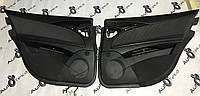 Дверні карти чорні тканина Mercedes e-class w211, фото 1