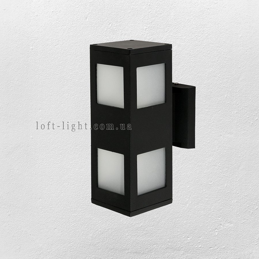Садово-парковий світильник , бра 67-L5176-WL-2 BK