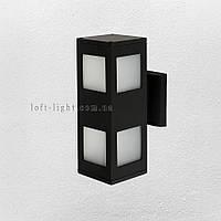 Садово-парковый светильник , бра ( модель  67-L5176-WL-2 BK )