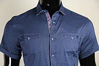 Рубашка мужская ANG 44660/44665 норма и батал