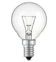 Лампа накаливания Philips шарик P-45 25Вт Е14 прозрачный
