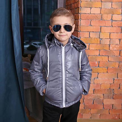 Весна – Осень Демисезонная Куртка для мальчика с капюшоном Куртка на мальчика Новинка 2019 Топ продаж, фото 2