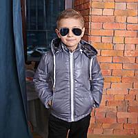 Весна – Осень Демисезонная куртка для мальчика с капюшоном
