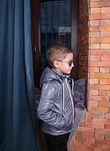 Весна – Осень Демисезонная Куртка для мальчика с капюшоном Куртка на мальчика Новинка 2019 Топ продаж, фото 3