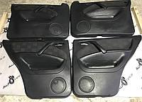Дверные карты черные ткань mercedes ml-class w163, фото 1