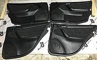 Карта двери черная ткань  mercedes c-class w203