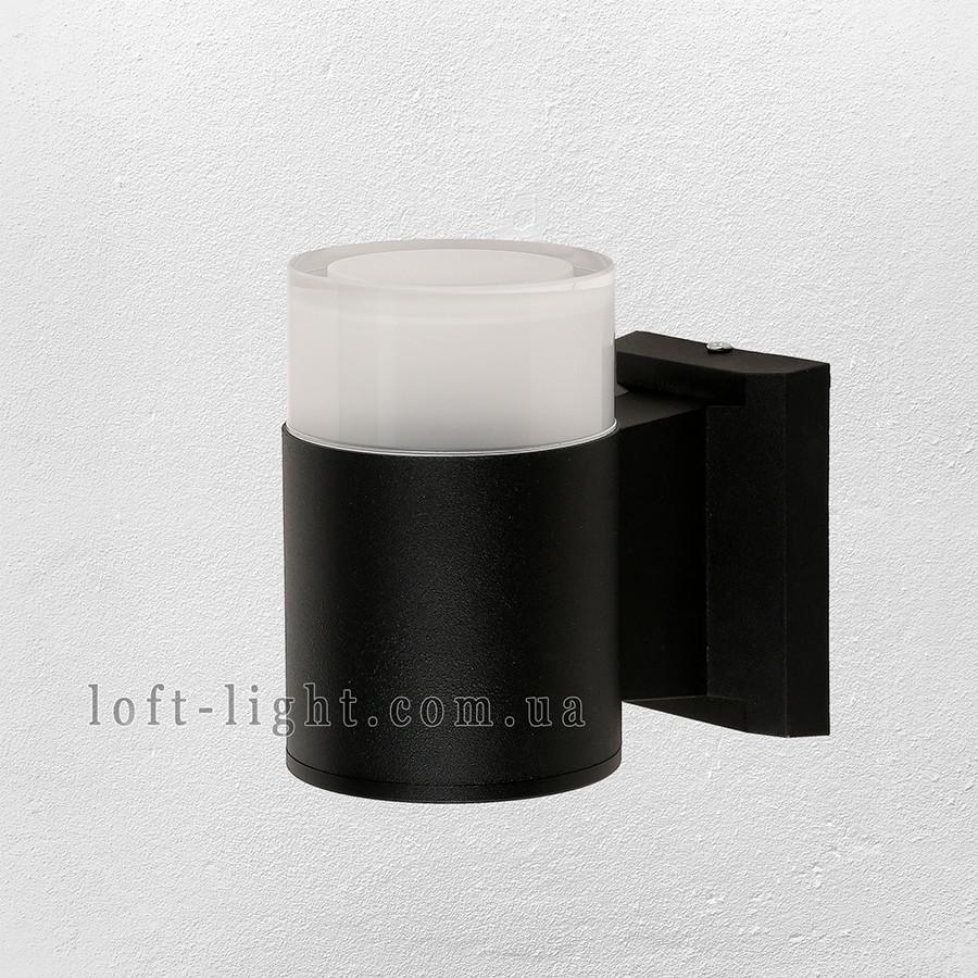 Садово-парковий світильник , бра 67-L540-WL-1 BK LED 3W