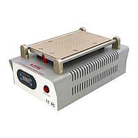 """Сепаратор 8.5"""" (19 х 11 см) AIDA A-918 со встроенным компрессором для вакуумного способа фиксации стекла"""