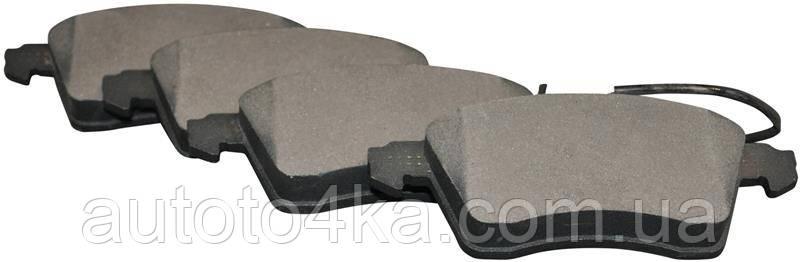 Колодки тормозные передние (комплект) JP Group 1163603910