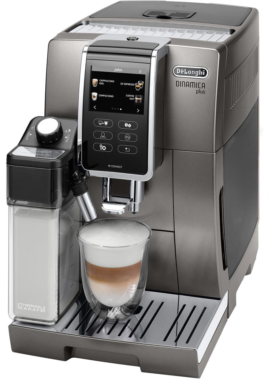 Кофемашина Delonghi Dinamica Plus ECAM 370.95 T