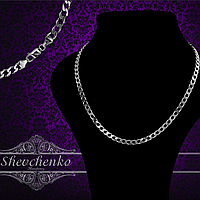 Серебряные цепочки и браслеты машинной вязки