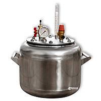 Автоклав бытовой из нержавейки «УТех-А8» (7 литровых/8 пол литровых банок)