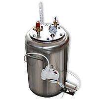 Автоклав бытовой из нержавейки «УТех-A24 Electro» (14 литровых/24 пол литровых банок)