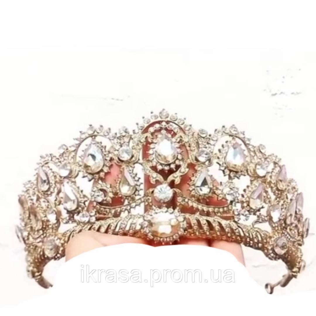 July Унікальна корона Шампань та золото (6,3см)
