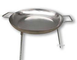 Сковорода – диск для пикника из нержавеющей стали - 60см.