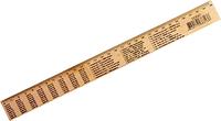 Линейка деревянная таблица умножения 30 см (12) Ш.К. 4820175683138