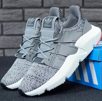 "Мужские кроссовки Adidas Prophere ""Grey/White"", фото 2"