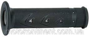Мото грипсы Pro Grip Duo density на мотоцикл  серо-черные длина 125 мм диаметр 22мм PG PA072100AR02