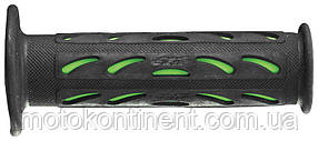 Мото грипсы Pro Grip Duo density на мотоцикл черно-зеленые длина 125 мм диаметр 22мм PG PA072400VE02