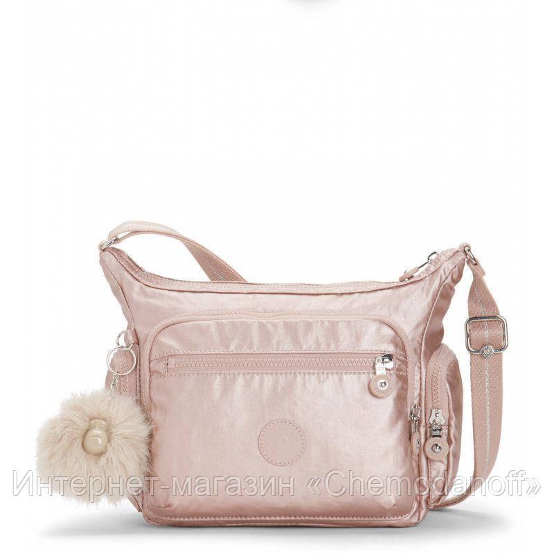 49bea2baf1f4 Женская сумка Kipling GABBIE S/Metallic Blush KI2532_49B: купить ...