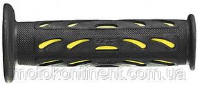 Мото грипсы Pro Grip Duo density на мотоцикл черно-желтые длина 125 мм диаметр 22мм PA 072400 GI02 YEL/BK