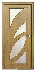 Модель Пальмира (светлый дуб) ПО, межкомнатные двери, Николаев